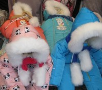 Детские зимние комбинезоны на возраст от 0 до 2-х лет от производителя. Непромок. Киев, Киевская область. фото 3