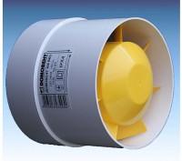 Бытовой канальный вентилятор Домовент 125 ВКО. Черкассы. фото 1