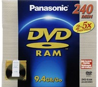 Panasonic DVD-RAM 9,4Gb type 4 cartridge диск. Киев. фото 1