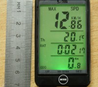 Велокомпьютер спидометр одометр SunDING SD-576А c подстветкой. Запорожье. фото 1