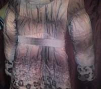 Зимнее пальто на девочку 140см на холлофайбере.В отличном состоянии,шапочка деми. Каменское, Днепропетровская область. фото 5