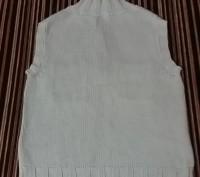 Продам вязанную жилетку на девочку 7-9 лет, рост 128-134, фирмы Esprit. Жилетка . Киев, Киевская область. фото 4