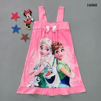 Ночная рубашка Фроузен для девочки. Нежин. фото 1