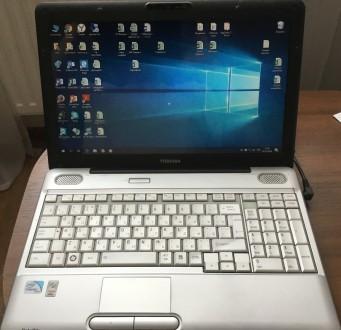 Продам ноутбук Toshiba SATELLITE L500-1EN в хорошем состоянии. Киев. фото 1