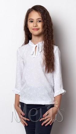Mevis. Блуза для дівчинки, короткий рукав. Полтава. фото 1