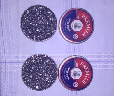 пули свинцовые к пневматическому оружию Crosman Premier Super Point, 1000 штук. Львов. фото 1