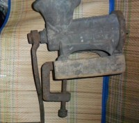 Антикварная мясорубка. Запорожье. фото 1