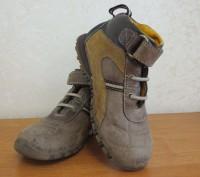 Продам кожаные демисезонные ботинки. Есть небольшие потертости на носочках (на ф. Каменское, Днепропетровская область. фото 2