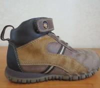 Продам кожаные демисезонные ботинки. Есть небольшие потертости на носочках (на ф. Кам'янське, Дніпропетровська область. фото 5