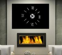 Настенные часы - стикеры с 3D-эффектом (римские цифры). Миколаїв. фото 1