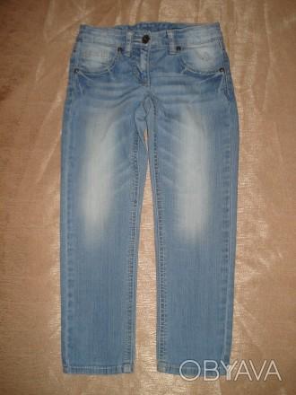 Джинсы Benetton Jeans на девочку 4-5 лет Размер - XS, возраст: 4-5 лет, рост: 1. Херсон, Херсонская область. фото 1
