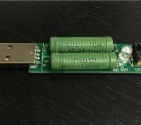 USB нагрузка переключаемая 1А / 2А  для тестера по Киеву и Украине видео. Киев. фото 1