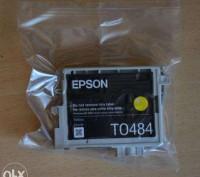 Струйный картридж Epson T0484 (C13T04844010). Киев. фото 1