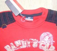 Красный ТЕПЛЫЙ   (небольшой начес)   Новый реглан р.116       длина от плеча   . Мариуполь, Донецкая область. фото 4