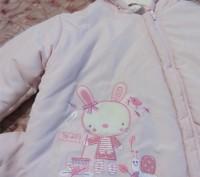 Продам новую куртку на сентапоне  на девочку 1.5-2 года. Запоріжжя, Запорізька область. фото 5