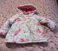 Куртка -пальто на девочку 1.5-2 года. Запорожье. фото 1