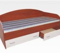 Продам кровать с 2 выдвижными ящиками. Мелитополь. фото 1