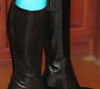 Очень удобные, стильные сапоги Minelli. Внутри и снаружи натуральная кожа. Стель. Белая Церковь, Киевская область. фото 5