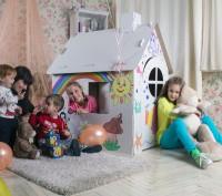 Домик для игр и рисования – это полотно для будущего художника, дом для основате. Запорожье, Запорожская область. фото 6