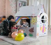 Домик для игр и рисования – это полотно для будущего художника, дом для основате. Запорожье, Запорожская область. фото 4