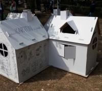 Домик для игр и рисования – это полотно для будущего художника, дом для основате. Запорожье, Запорожская область. фото 8