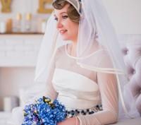 Свадебное платье. РУЧНАЯ РАБОТА. Бровары. фото 1