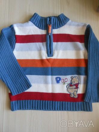 Продам наш любимый свитер Disney на 86 см. Очень удобная горловина на замочке. . Киев, Киевская область. фото 1