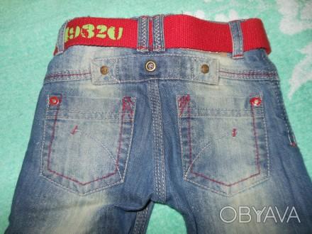 Продам наши любимые, стильные джинсы Minotiна 9-12 м. в отличном состоянии,без д. Киев, Киевская область. фото 1