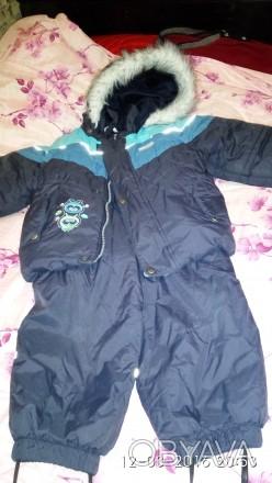 Очень теплый зимний костюм lenne,р размер 92,относили одну зиму. Черноморск (Ильичевск), Одесская область. фото 1
