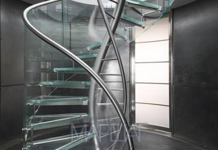Изготовление с нержавеющей стали изделий любой сложности. Лестницы, перила, огр. Киев, Киевская область. фото 11