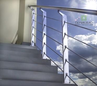 Изготовление с нержавеющей стали изделий любой сложности. Лестницы, перила, огр. Киев, Киевская область. фото 2