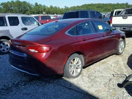 Chrysler 200 Limited 2.4L АТ 2015 красный седан из США Год выпуска: 2015 Пробе. Киев, Киевская область. фото 3