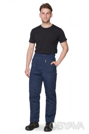 Утепленные рабочие брюки