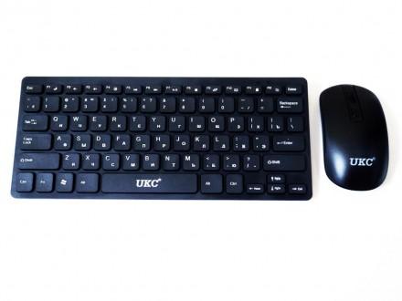 901 Беспроводная клавиатура и мышь (под Apple). Днепр. фото 1
