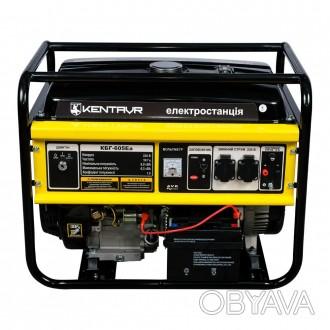 Генератор бензиновый Кентавр КБГ605Ea (6,5 кВт)