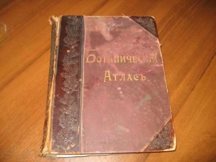 Гофман К., Монтеверди Н. Ботанический Атлас. 1899 г.. Днепр. фото 1