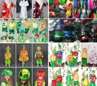 Детские карнавальные костюмы только новые от 170грн(гномики)от 205грн(овощи,фрук. Львов, Львовская область. фото 2