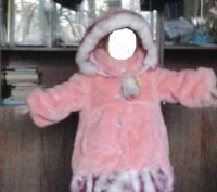 Очень красивая шубка для вашей девочки. В идеальном состоянии, одевали несколько. Каменское, Днепропетровская область. фото 3