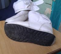 Продам белые детские сапожки на меху. Размер 30. По стельке - 19 см.. Днепр, Днепропетровская область. фото 8