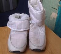 Продам белые детские сапожки на меху. Размер 30. По стельке - 19 см.. Днепр, Днепропетровская область. фото 6
