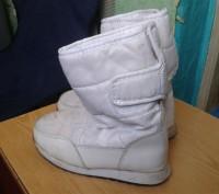 Продам белые детские сапожки на меху. Размер 30. По стельке - 19 см.. Днепр, Днепропетровская область. фото 10