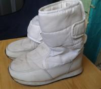 Продам белые детские сапожки на меху. Размер 30. По стельке - 19 см.. Днепр, Днепропетровская область. фото 5