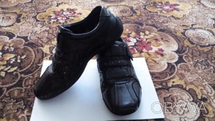 Продам детские туфли 38 размера, в хорошем состоянии, подошва прошитая, без трещ. Мелитополь, Запорожская область. фото 1