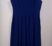 Платье насыщенно синего цвета. Харьков. фото 1