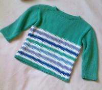 Нарядный свитерок. Селидово. фото 1