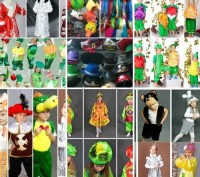 Карнавальные,маскарадные костюмы,маски,шляпы,звери,снегурочка,дед мороз,овощи.. Киев. фото 1