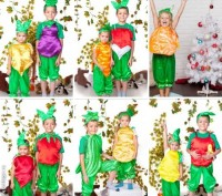 Детские карнавальные костюмы только новые от 170грн(гномики)от 195грн(овощи,фрук. Київ, Київська область. фото 13