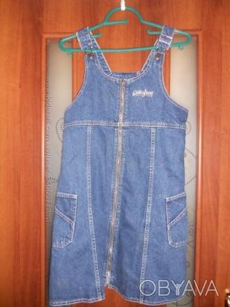 Продам Сарафан джинс, фирмы Gloria Jeans 42 размера, в отличном состоянии, практ. Кам'янське, Дніпропетровська область. фото 1