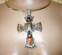шикарное украшение с крестом. Никополь. фото 1