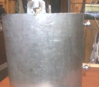 Ведро из нержавейки (примерно 8-9 литров). Белая Церковь. фото 1